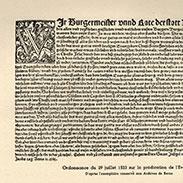 Le début de la Réforme dans la ville de Mulhouse
